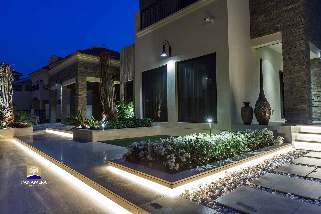 Villa Garden Lighting Dubai
